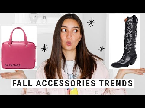 Top 10 Fall Trends 2018 - Shoes, Bags, & Jewelry!!