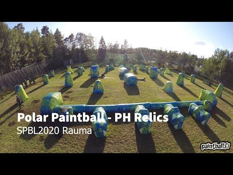 Polar Paintball vs PH Relics - SPBL2020 Rauma