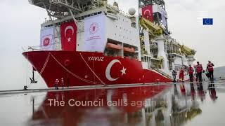 ΣΕΥ - Υιοθέτησε νομικές πράξεις για περιοριστικά μέτρα Τουρκίας