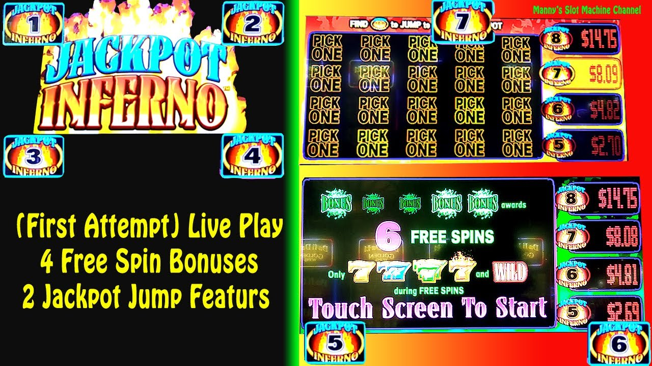 Jackpot inferno slot machine jackpot