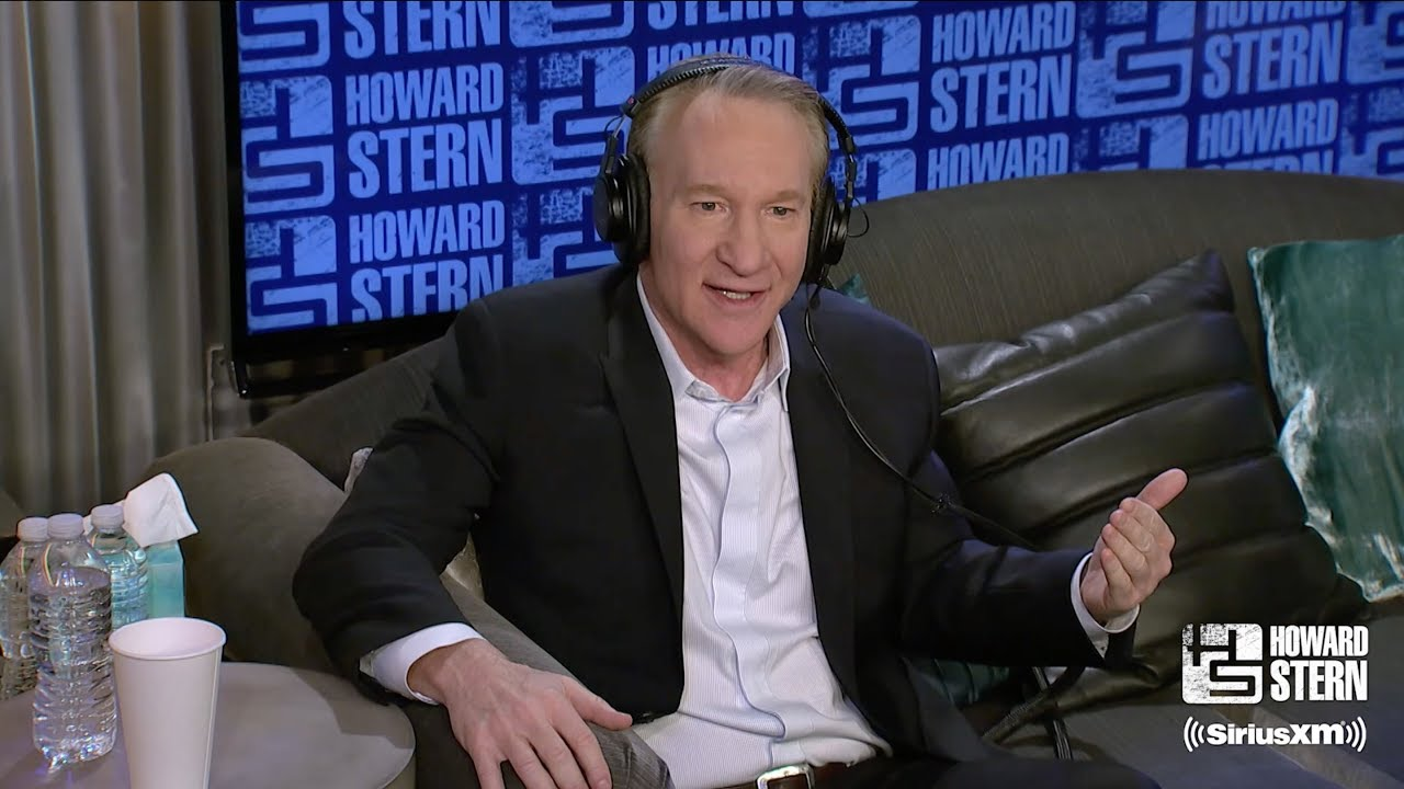 Watch Howard Stern Talk Therapy, Feuds With Bill Maher on 'Real Time'
