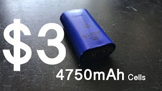 $3 eBay 4750mAh Boston Power Sonata Lithium Cells