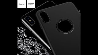 Чехол HOCO Fascination series TPU для iPhone X | HOCO case