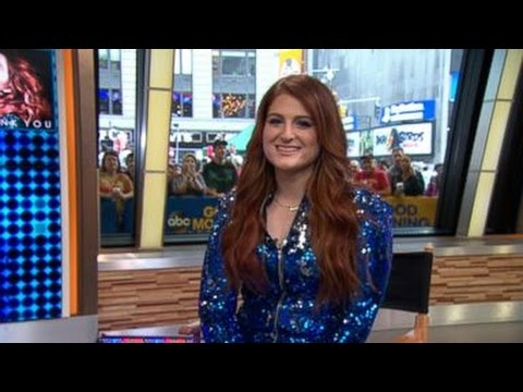 Meghan Trainor Talks Body Shaming on 'GMA'