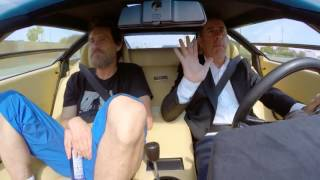 Jerry Seinfeld & Jim Carey - in the Countach