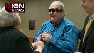 Man Gets Bionic Eye, Sees Wife For The First Time in 20 Years - IGN News