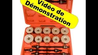 kit démontage Silentbloc, Silent bloc, Sans Presse !!