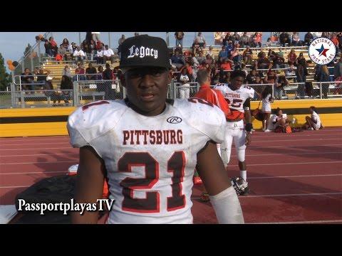 Pittsburg SHUTS DOWN #1 RB Najee Harris : Antioch vs Pittsburg