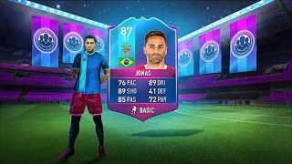 rarest card in fifa fifa17 ultimate team 87 purple jonas