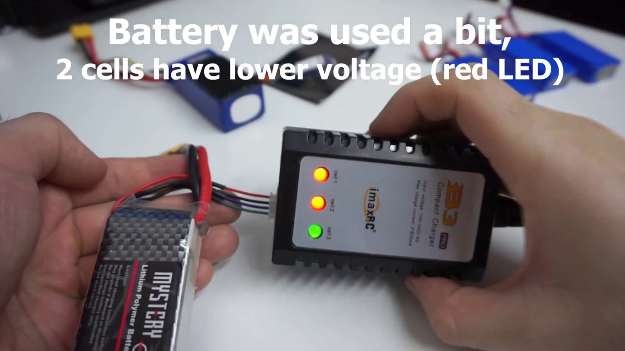 Imax RC B3 battery charger (2S & 3S, 220V) - YouTube