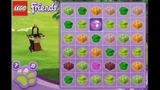 Лего Подружки игра Пазл животных (Lego Friends Pet Puzzle)