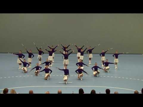 NM Korpsdrill 2017 - Florø Drill - Traditional Majorettes Corps junior