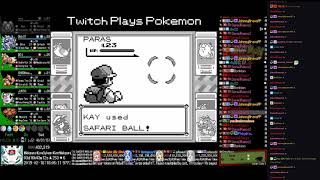 Twitch Plays Pokémon Anniversary Burning Red - Hour 89 to 90