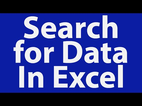 Search for Data In Excel Database with UserForm