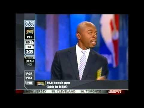 2006 NBA Draft - #12 Pick: Hilton Armstrong