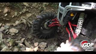 Gear Driven Performance Portal Gear Lift by SuperATV - Beatdown with 36