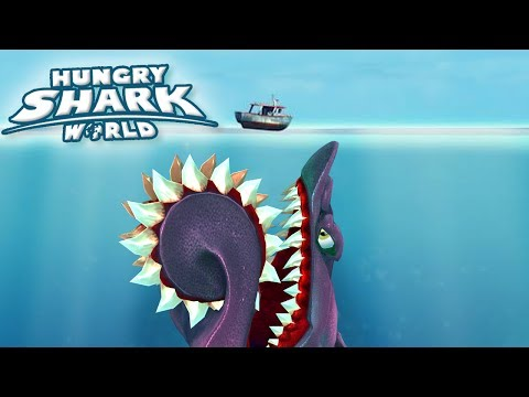 MAXED HELICOPRION!!! - Hungry Shark World | Ep 50 HD