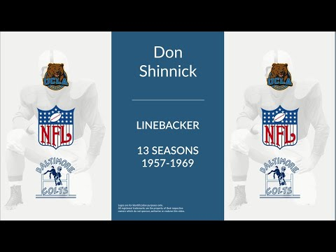 Don Shinnick: Football Linebacker