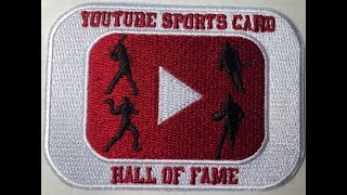 2019 You Tube Sports Card Hall Of Fame Voting