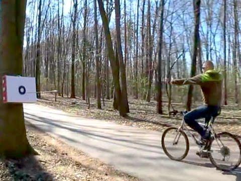 Bike Bow Simulation Of Horse Archery Youtube