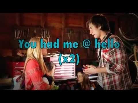 Had Me @ Hello(Lyrics) Luke Benward