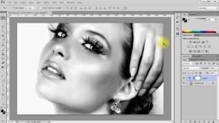 PS Как сделать черно-белое фото в Фотошоп