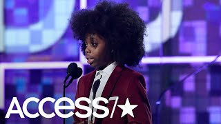 Diana Ross' 9-Year-Old Grandson Raif-Henok Steals The 2019 Grammys Show With An Adorable Speech