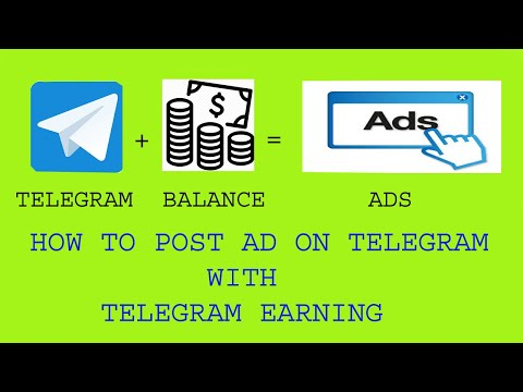 How to post your ad on TELEGRAM using your account balance | TELEGRAM Earning | MOBI TECH LITE