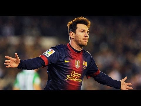 Messi Record Breaking 86 Goals in 2012
