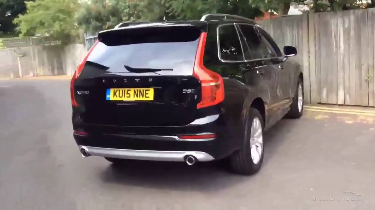 volvo xc90 d5 momentum awd black 2015 youtube. Black Bedroom Furniture Sets. Home Design Ideas