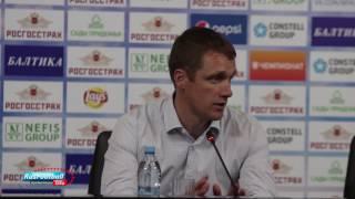 Послематчевая пресс-конференция тренера ПФК ЦСКА Виктора Гончаренко