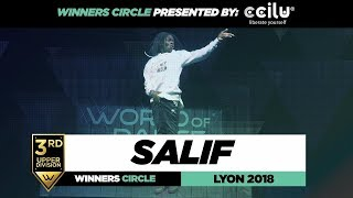 Salif I 3rd Place Upper Division I Winners Circle I World of Dance Lyon 2018 I #WODFR18