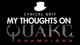 TotalBiscuit's thoughts on Quake Champions
