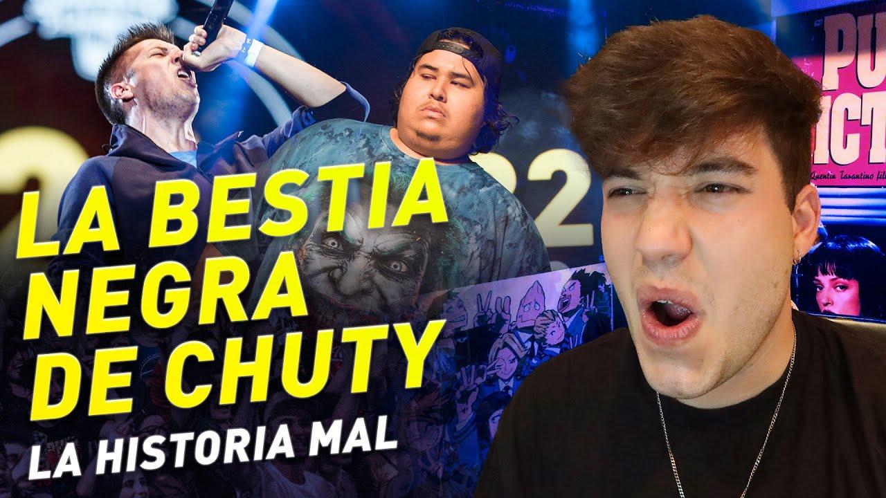 LA BESTIA NEGRA DE DIOS - JONY BELTRÁN VS CHUTY - LA HISTORIA MAL
