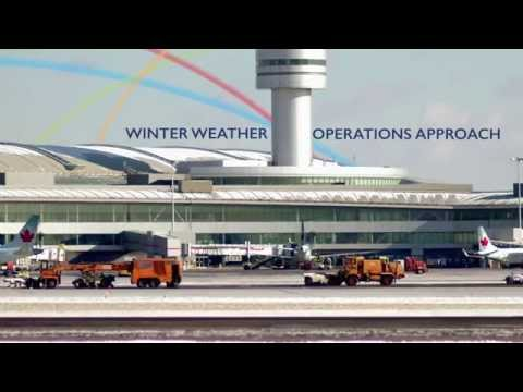 Winter Operations at Toronto Pearson International Airport - English
