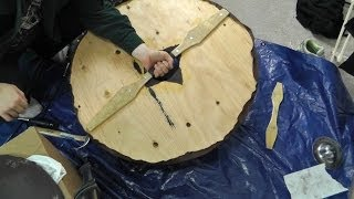 How to make a Viking shield on a budget