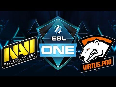 🔴Navi vs VP - ESL One Hamburg 2017 - Dota 2 Live Streams