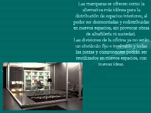 Fotos de mamparas para oficinas modelos de casas for Fotos de oficinas modernas