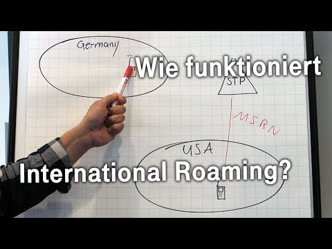 Social Media Post: #EineFrage: Wie funktioniert international Roaming?