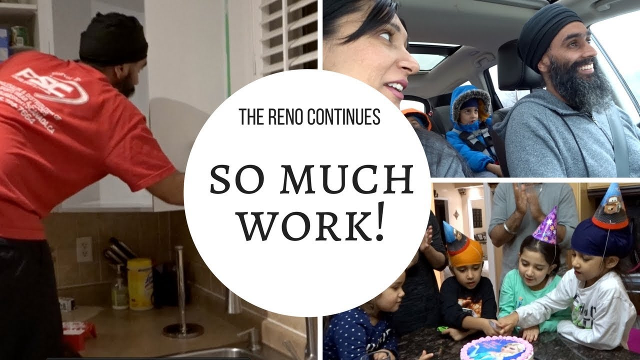 Kitchen Reno Continues + Kids Start Gymnastics   FAMILY VLOG   MOM ...