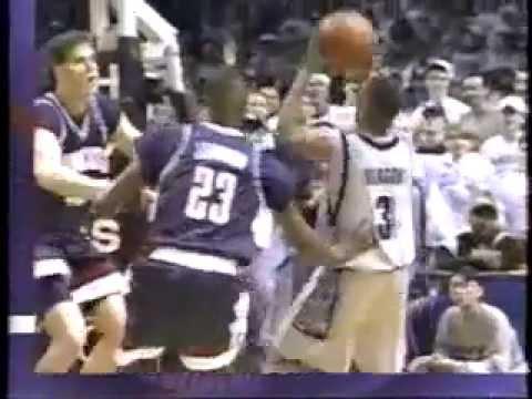 Georgetown vs Uconn Ray Allen v Allen Iverson Feb 19 1996