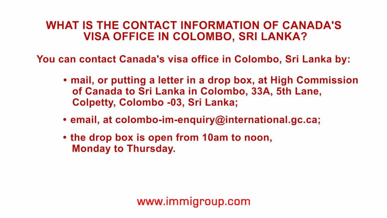 What is the contact information of canadas visa office in colombo what is the contact information of canadas visa office in colombo sri lanka thecheapjerseys Image collections