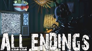 fnaf sister location all endings five nights at freddy s sister location ending