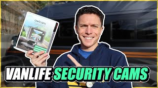 Our Van Life Security Cameras | Owlcam Installation for Winnebago Travato!