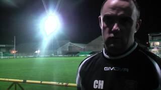 Chris Hughes Aber Post Match