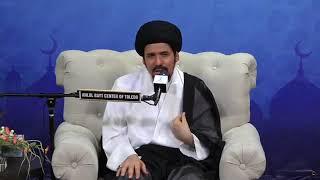 الزوجة الصالحة والرحم الطاهر والمرأة العظيمة السيدة خديجة بنت خويلد عليها السلام - السيد منير الخباز
