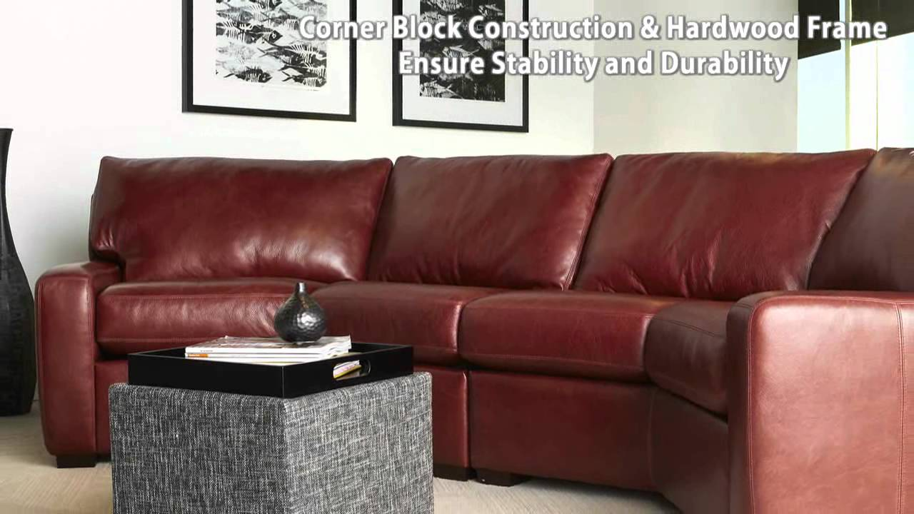 American Leather Carson Sofa  American Leather Anniversary Collection