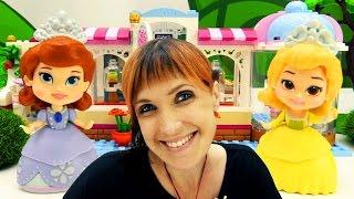 Учим английский с куклами из мультика Принцесса София