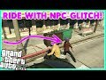 GTA 5 Online Ride With NPC ON ANY BIKE! *SOLO* NPC Glitch!