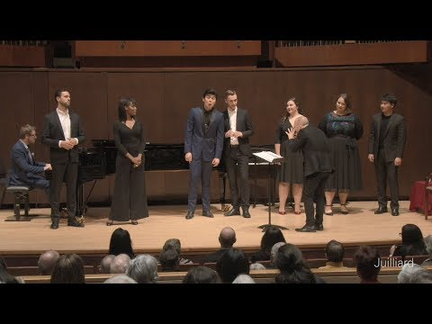 Act 1 Septet from Mozart's 'Don Giovanni' | Juilliard Yannick Nézet-Séguin Vocal Arts Master Class